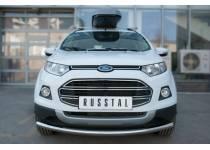 Защита переднего бампера d63 для Ford Ecosport (2014-)