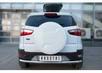 Защита заднего бампера d63 для Ford Ecosport (2014-)