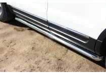 Пороги трубы d63 для Ford Explorer (2012-)