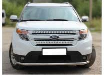 Защита переднего бампера d60 для Ford Explorer (2012-)