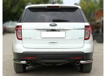 Уголки d60 для Ford Explorer (2012-)