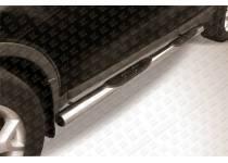 Пороги с проступями d76 для Ford Kuga (2008-2012)