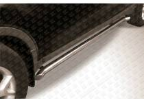 Пороги трубы с гибами d57 для Ford Kuga (2008-2012)
