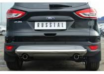 Защита заднего бампера d63 для Ford Kuga (2013-2015)