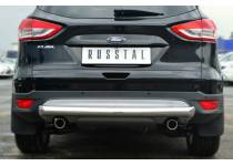 Защита заднего бампера d76 для Ford Kuga (2013-2015)
