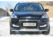 Защита переднего бампера d60/42 для Ford Kuga (2013-2015)
