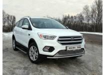 Защита передняя нижняя 42,4 мм для Ford Kuga (2016-)