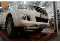 Защита переднего бампера Shark d76 для Toyota Hilux (2011-2014)