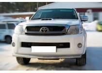 Защита переднего бампера d63 для Toyota Hilux (2011-2014)