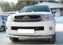 Защита переднего бампера d76 для Toyota Hilux (2011-2014)