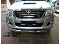Защита переднего бампера d76 Winbo для Toyota Hilux (2011-2014)