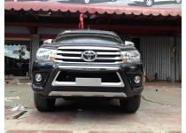 Защита переднего бампера OE-Style для Toyota Hilux Revo (2015-2017)