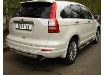 Защита заднего бампера d63 для Honda CRV (2010-2012)