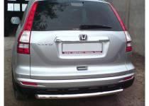 Защита заднего бампера d60 для Honda CRV (2010-2012)
