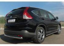 Пороги трубы d63 для Honda CRV 2.4 (2013-)