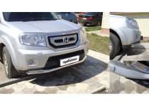 Защита переднего бампера d76 для Honda Pilot (2008-2011)