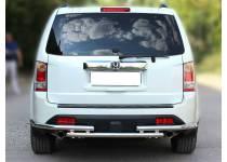 Защита заднего бампера d53 для Honda Pilot (2012-2015)