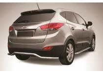 """Защита заднего бампера """"волна"""" d57 для Hyundai IX35 (2009-2015)"""