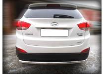 Защита заднего бампера d60 для Hyundai IX35 (2009-2015)