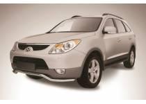 """Защита переднего бампера """"волна"""" d57 для Hyundai IX55"""