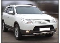 Защита переднего бампера d60 для Hyundai IX55