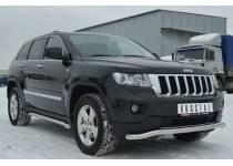 Защита переднего бампера d63 для Jeep Grand Cherokee (2011-2013)