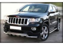 Защита переднего бампера d60 для Jeep Grand Cherokee (2011-2013)