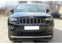 Защита переднего бампера d60 для Jeep Grand Cherokee (2014-)