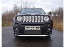 Защита передняя нижняя 60,3 мм для Jeep Renegade 4WD (2015-)