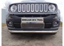 Решетка радиатора верхняя (лист) для Jeep Renegade 4WD (2015-)