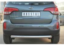 Защита заднего бампера d76 для Kia Sorento (2013-)