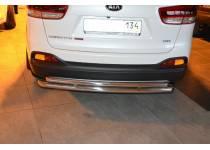 Защита заднего бампера d60/42 для Kia Sorento Prime (2015-)