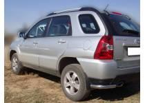 Уголки d60 для Kia Sportage (2008-2010)