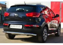 Защита заднего бампера d63 для Kia Sportage (2014-)