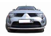 Защита переднего бампера d60 для Mitsubishi L200 (2006-2013)