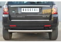 Защита заднего бампера d76 для Land Rover Freelander 2 (2013-)