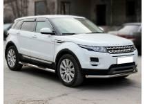 Пороги труба с проступью d60 для Land Rover Range Rover Evoque (2011-)