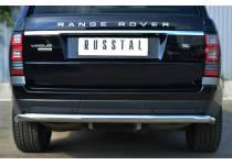 Защита заднего бампера d63 для Land Rover Range Rover (2012-)