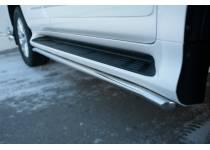 Защита штатных порогов d42 для Lexus GX460 (2014-)