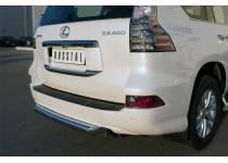 ЦентральнаяЗащита заднего бампера d76 для Lexus GX460 (2014-)