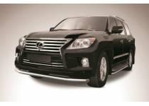 Защита переднего бампера d76 для Lexus LX570 (2012-2014)