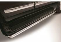 Защита штатных порогов d57 для Lexus LX570 (2012-2014)