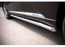 Пороги труба d63 для Lexus RX 270/350/450h (2010-2012)