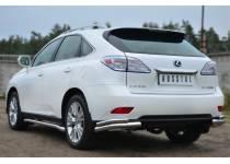 Уголки двойные d63/42 для Lexus RX 270/350/450h (2013-)