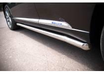 Пороги труба d63 для Lexus RX 270/350/450h (2013-)