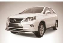 Защита переднего бампера d76 для Lexus RX 270/350/450h (2013-)