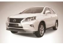 Защита переднего бампера d57 для Lexus RX 270/350/450h (2013-)