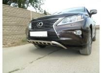 """Защита переднего бампера """"скоба"""" d60 для Lexus RX 270/350/450h (2013-)"""