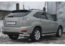 Уголки двойные d76/42 для Lexus RX 300/330/350 (2003-2009)