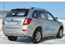 Защита заднего бампера d63 для Lifan X60 (2011-)